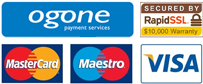 secure online payment cards accepted